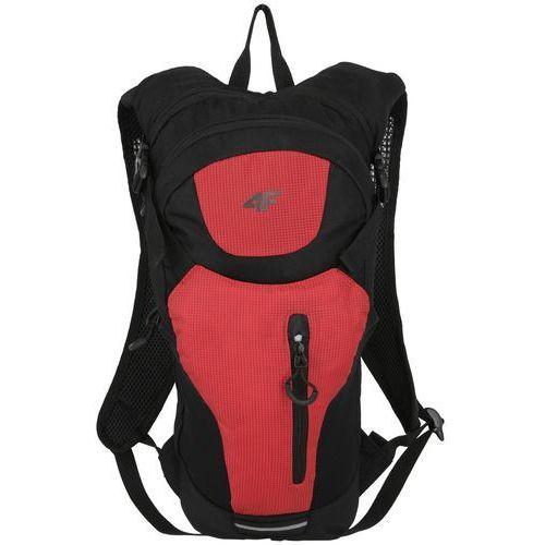 Plecak rowerowy h4l18 pcr003 8l system h2o czarny/czerwony marki 4f