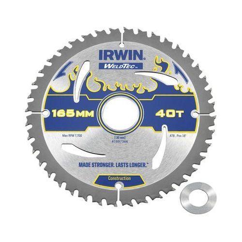 Irwin weldtec Tarcza do pilarki tarczowej 165 mm/40t/30(20)