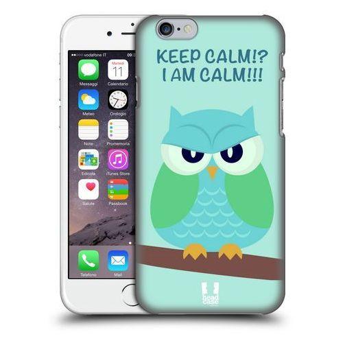 Head case Etui plastikowe na telefon - mean owls green wing