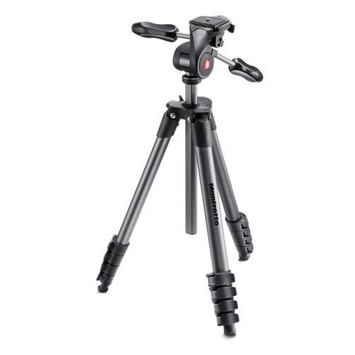 Manfrotto Statyw compact advanced czarny (8024221631173)