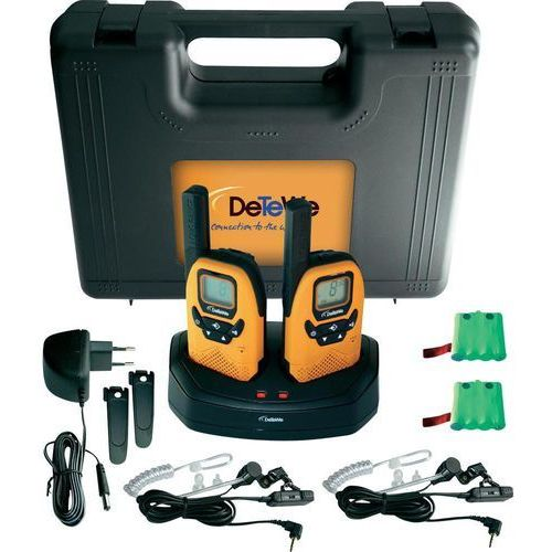 Walkie talkie DeTeWe Outdoor 8000 Duo Case