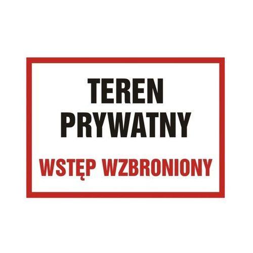 Znak Teren prywatny (5900207008678)