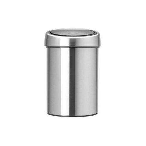Brabantia Kosz na śmieci uchylny touch bin 3l - stal matowa