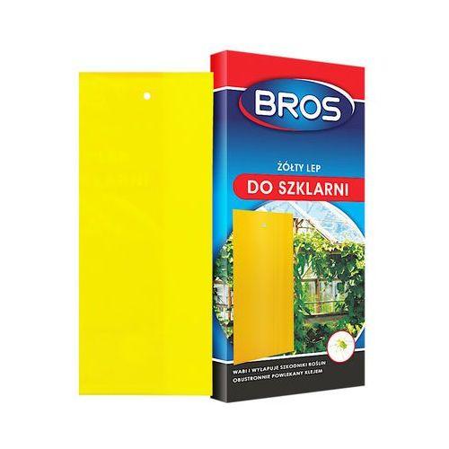 - lep do szklarni żółty 10szt (bros388) marki Bros