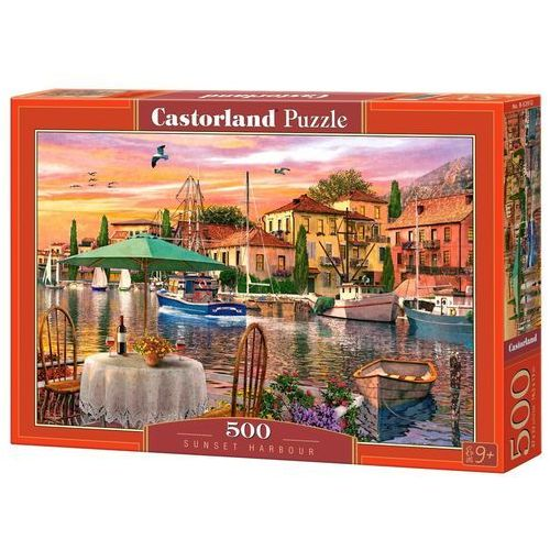Puzzle 500 Sunset Harbour - Castor OD 24,99zł DARMOWA DOSTAWA KIOSK RUCHU, 5_620415