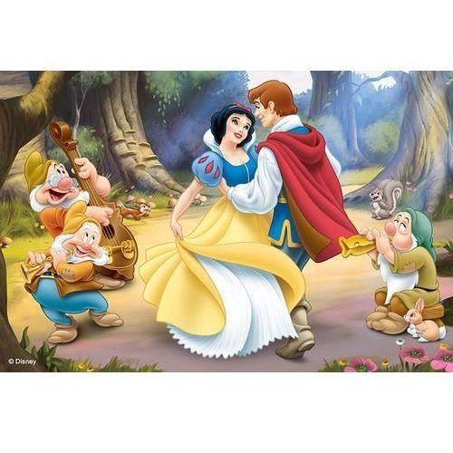 Puzzle 54 mini księżniczki 4 marki Trefl