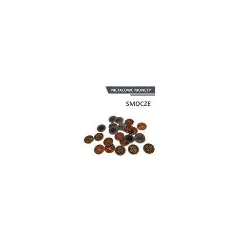 Inne gry Metalowe monety - smocze (zestaw 24 monet)