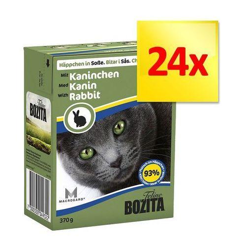 Megapakiet  w sosie, 24 x 370 g - pakiet mieszany, 4 smaki marki Bozita