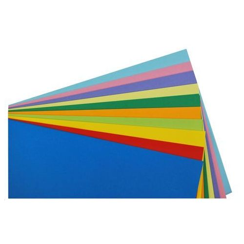 Mazak Papier techniczny kolorowy mix 100 ark a3 160g