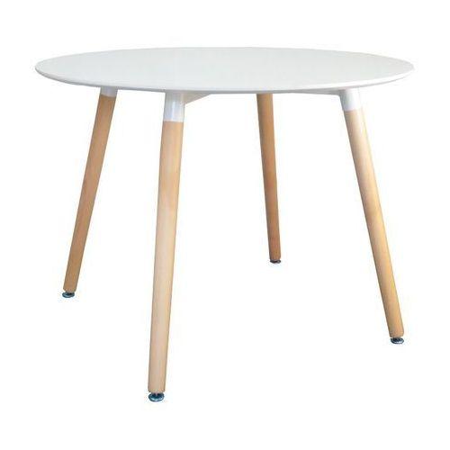 Stół biały dsw paris 100cm marki Ehokery.pl