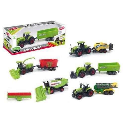 Traktor metalowy moje ranczo mega creative 405332