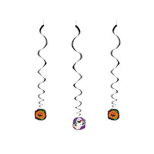 Dekoracja wisząca Happy Halloween - 68 cm - 3 szt. (0011179465026)