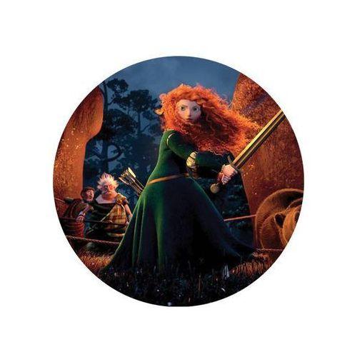 Dekoracyjny opłatek tortowy Princess - Księżniczki - 20 cm - 17