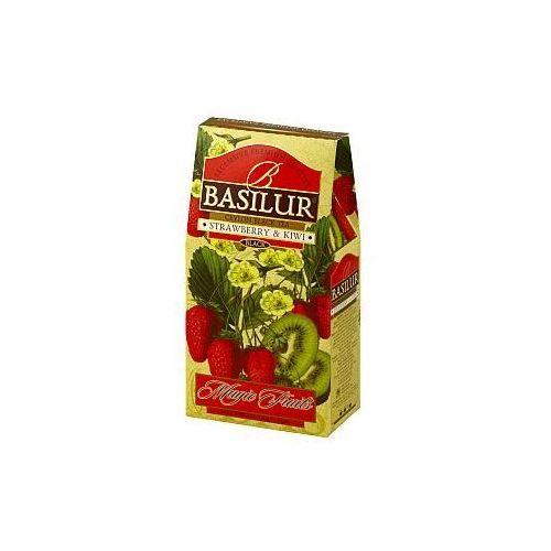 Herbata Magic Fruits Truskawka i kiwi stożek 100 g