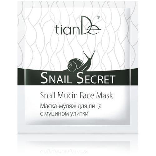 """Maseczka-mularz do twarzy z mucyną ślimaka """"Snail secret"""", TianDe 20 ml, td-14603"""