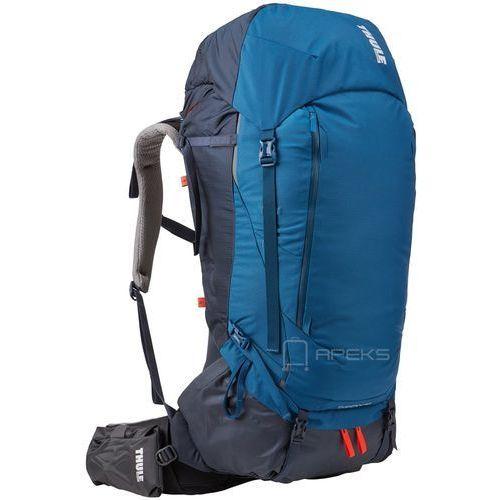6185a063e761c guidepost 65l męski plecak turystyczny   podróżny   niebieski - poseidon  marki Thule