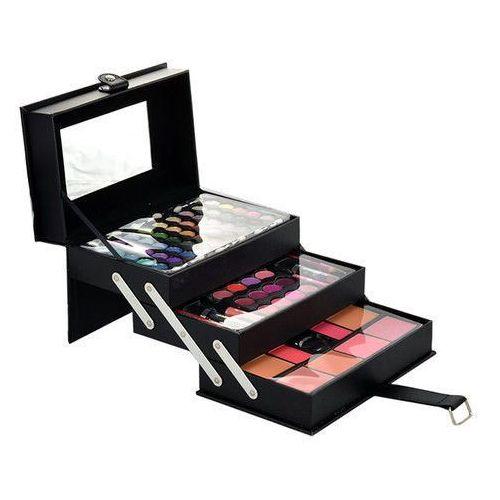 beauty case w kosmetyki zestaw kosmetyków complet make up palette marki Makeup trading
