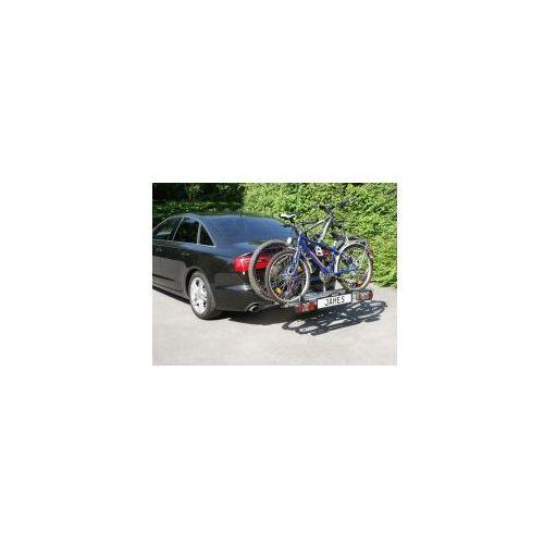 Bagażnik na rowery platforma na hak EUFAB JAMES na 2+1 rowery, kup u jednego z partnerów
