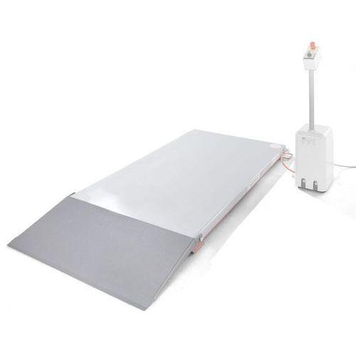 Klin najazdowy, do płaskiego stołu podnośnego, dł. x szer. 400x900 mm. marki Flexlift hubgeräte