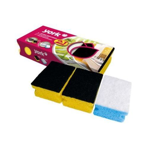 York Zmywak kuchenny 031030 clean&shine (3 szt.)