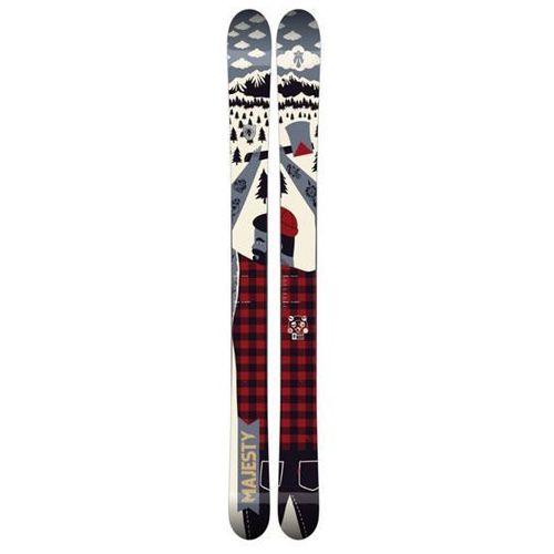 narty MAJESTY - Lumberjack (MULTI) rozmiar: 194