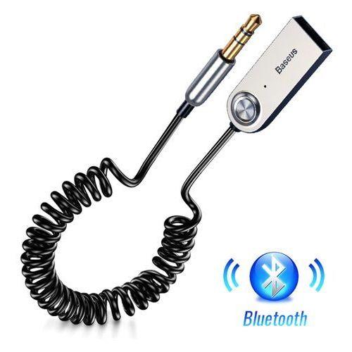 Baseus BA01 / Adapter transmiter Audio AUX odbiornik dźwięku Bluetooth 5.0 do samochodu (6953156290488)
