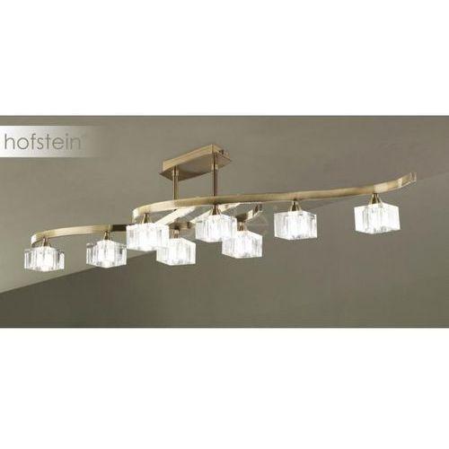 Mantra cuadrax lampa sufitowa mosiądz, 8-punktowe - nowoczesny - obszar wewnętrzny - cuadrax - czas dostawy: od 2-3 tygodni