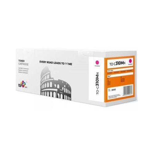 TB Print Toner do OKI C310 TO-C310MN magenta 100% nowy (5902002090643)