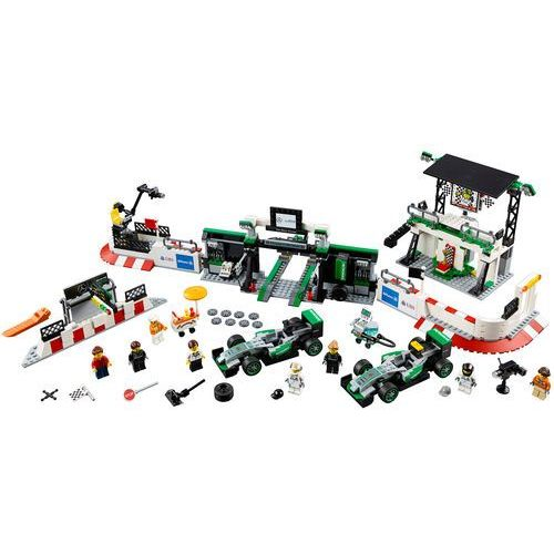 LEGO Speed Champions, MERCEDES AMG PETRONAS Formula One Team, 75883