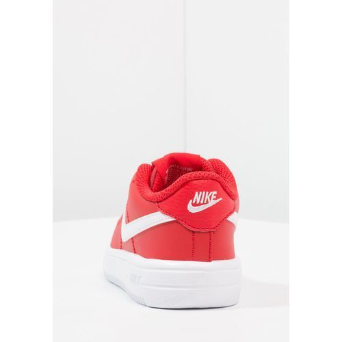 OKAZJA - Nike Sportswear FORCE 1 Półbuty wsuwane university red/white