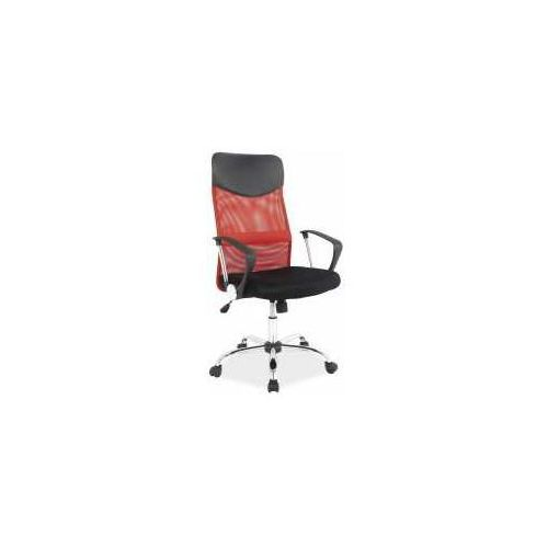 Signal meble Fotel q-025 czerwono-czarny - zadzwoń i złap rabat do -10%! telefon: 601-892-200