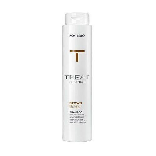 colour reflect, szampon do włosów brązowych, bez siarczanów 300ml marki Montibello
