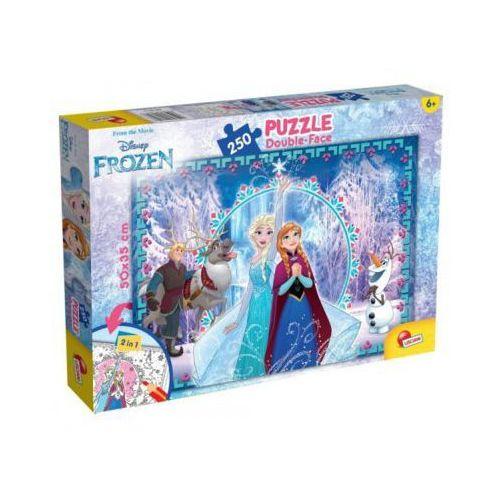 Puzzle 250 EL. Frozen dwustronne