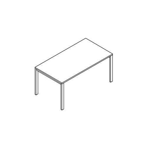 Stół ph55 - stelaż metalowy, wymiary: 180x90x75,5 cm marki Svenbox