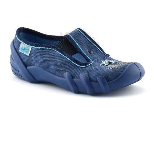 Kapcie Befado 290X157 Skate - Granatowy, kolor niebieski