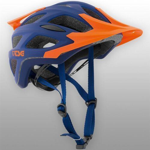 kask TSG - substance 3.0 solid color flat blue orange (372) rozmiar: L/XL