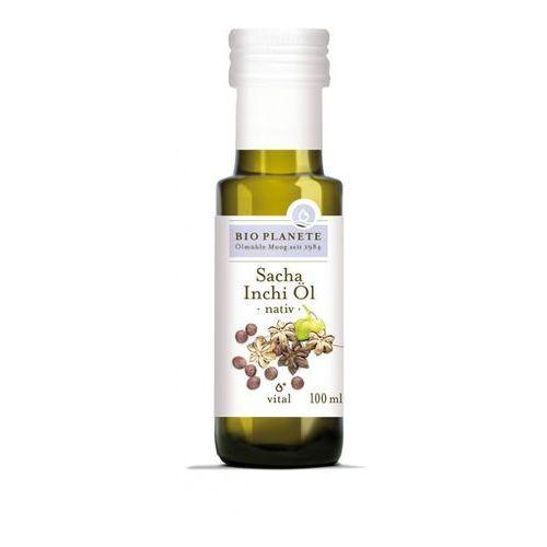 Bio planete (oleje i oliwy) Olej z nasion sacha inchi virgin bio 100 ml - bio planete
