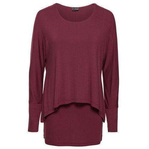 Bonprix Shirt  bordowy