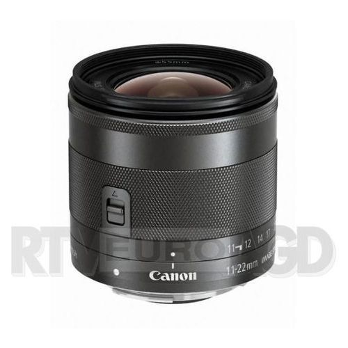 Canon  ef-m 11-22 mm f/4-5.6 is stm (4960999921624)