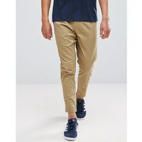 Only & Sons Cropped Chino In Tapered Fit - Beige