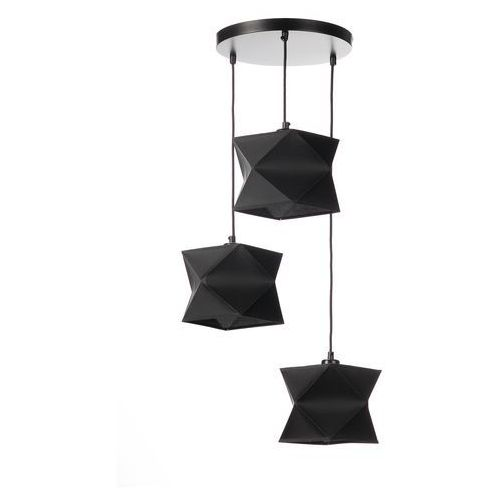 Lampa wisząca Alex 3 czarna - Ekotechnik24, kolor Czarny