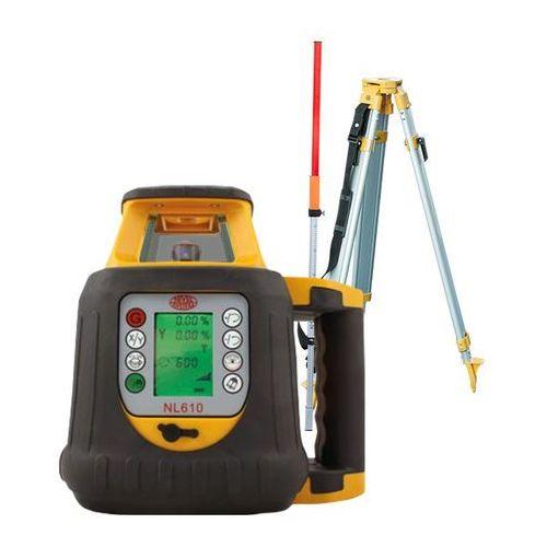 Niwelator laserowy Nivel System NL610 + statyw + łata