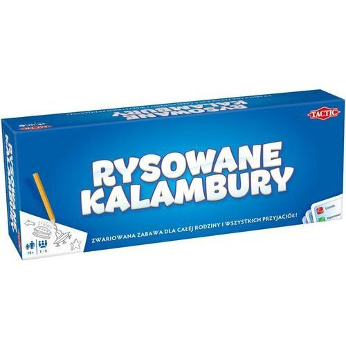Gra TACTIC Rysowane Kalambury 40568 + DARMOWY TRANSPORT!, 243276