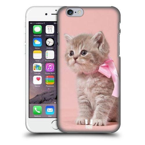 Etui plastikowe na telefon - Koty Kotek z Różową Kokardką