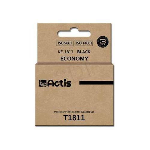 Tusz Actis KE-1811 (do drukarki Epson, zamiennik T1811 standard 18,2ml czarny)