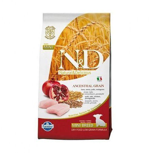 Farmina Nd low grain mini puppy 2,5kg chicken pomegranate natural & delicious n&d (8010276021922)