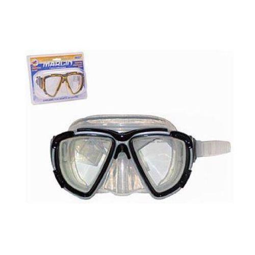 Maska do nurkowania MARLIN hartowane szkło 3 KOLORY
