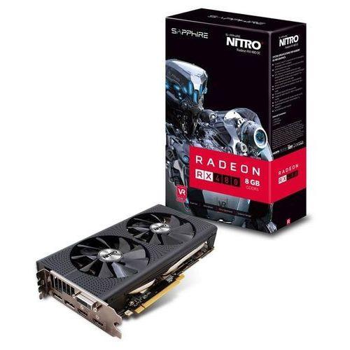 OKAZJA - Sapphire Radeon RX 480 NITRO+ 8GB GDDR5, 11260-10-20G