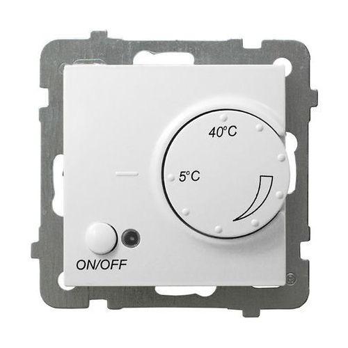 OSPEL AS RTP-1GN/m/00 Regulator temperatury z czujnikiem napowietrznym BIAŁY