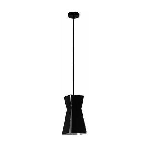 Eglo valecrosia 99082 lampa wisząca zwis 1x40w e27 czarna/biała